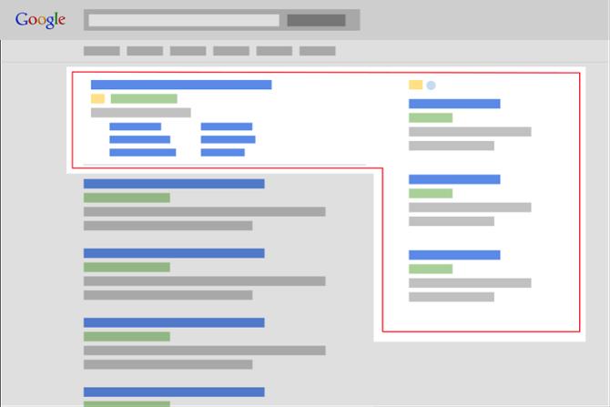 Modifica della SERP di Google