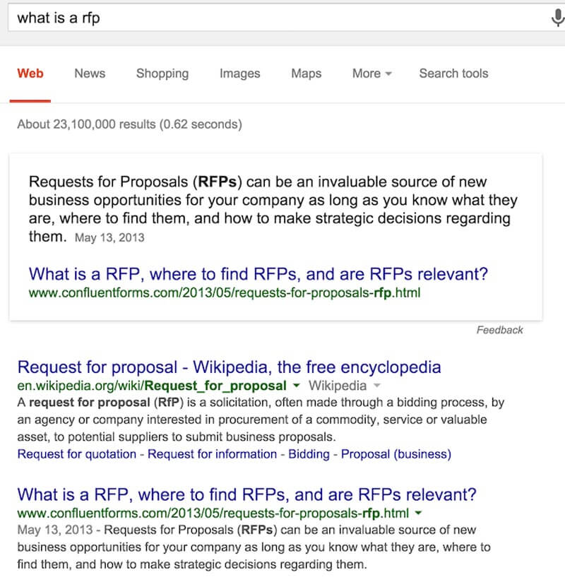Digital-marketing-news-Google-featured-snippet-esempio