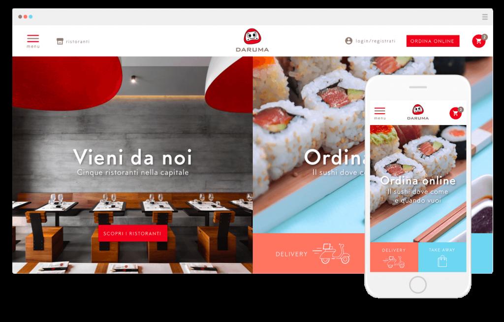 DarumaSushi - sushi delivery a Roma