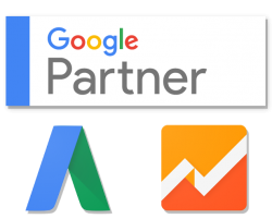 Badge Google AdWords e Analytics Certified Partner