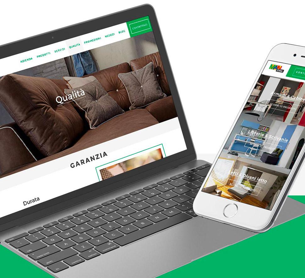 Man casa arredamento sito responsive e consulenza web for Sito arredamento design